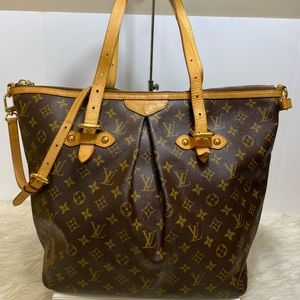 Louis Vuitton Monogram Palermo GM Shoulder ToteBag